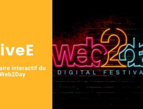 LiveE, partenaire interactif du Web2day !