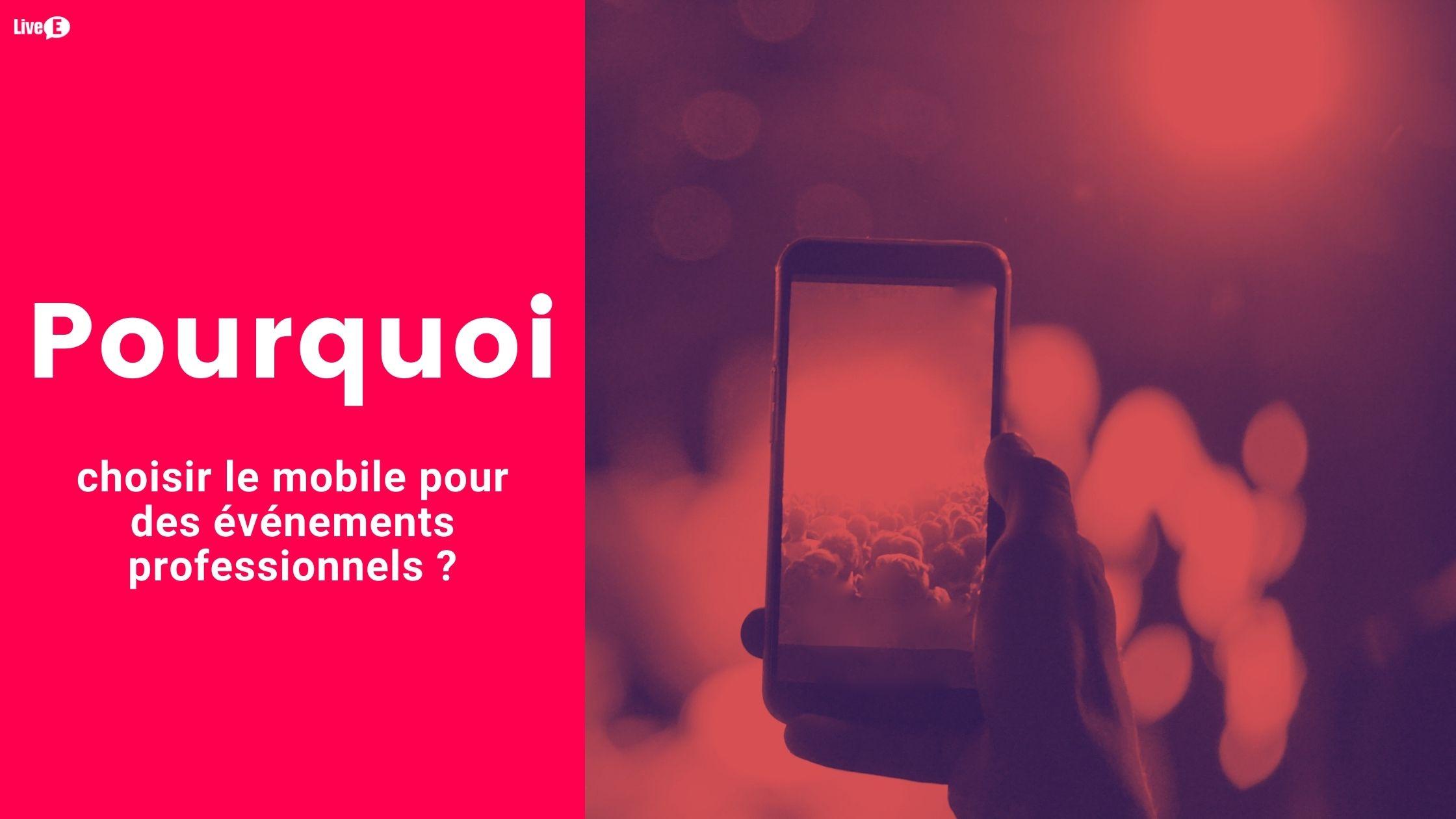 solution mobile pour événement