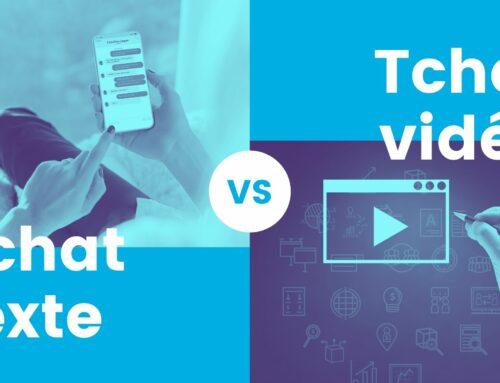 Tchat texte versus tchat vidéo : faites vos jeux !