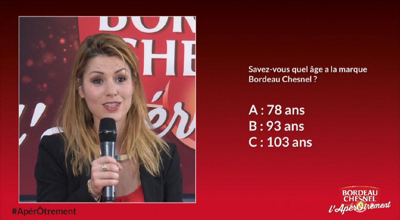 Vote en direct Bordeau Chesnel